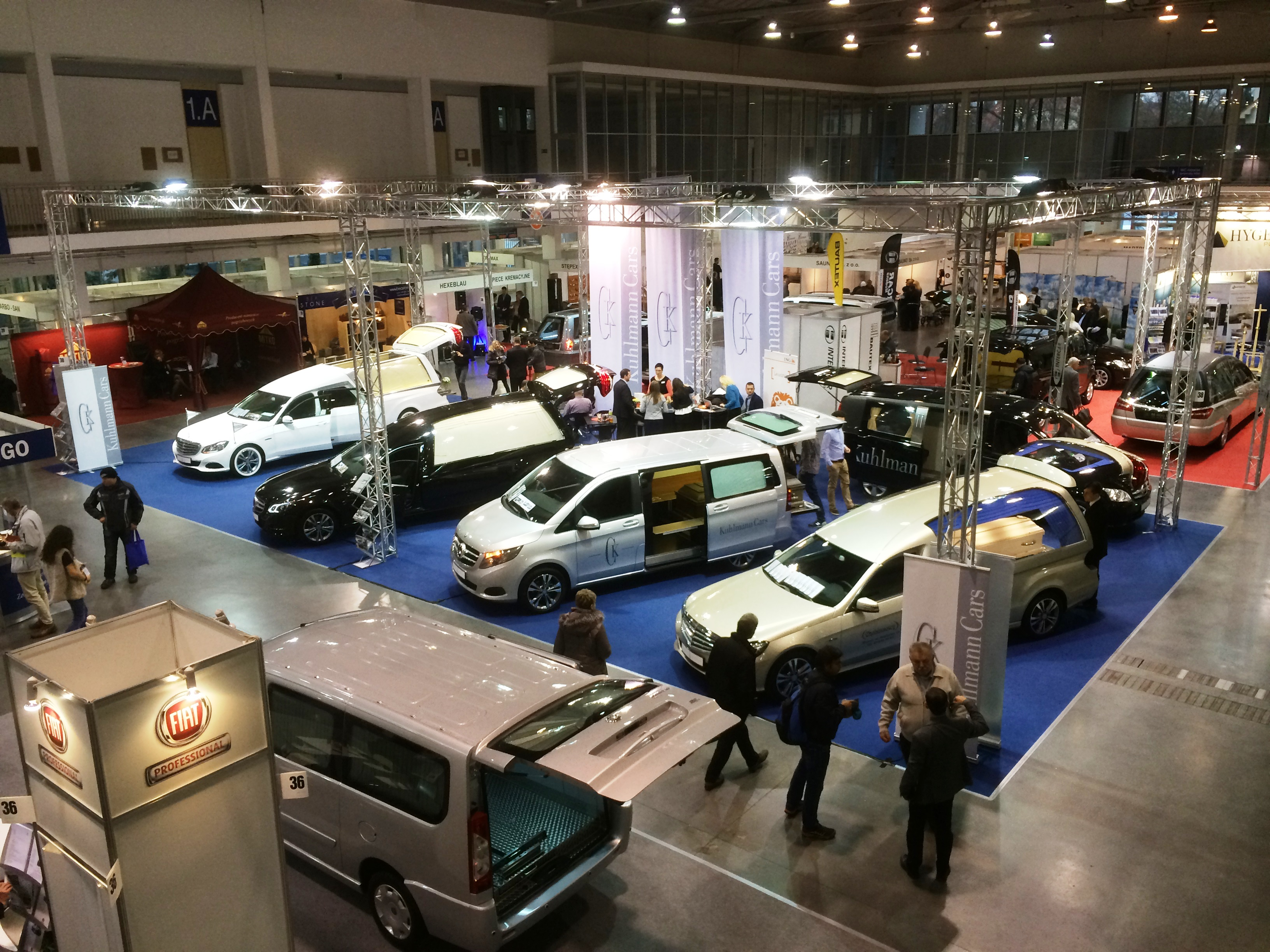 Kuhlmann Cars Messestand