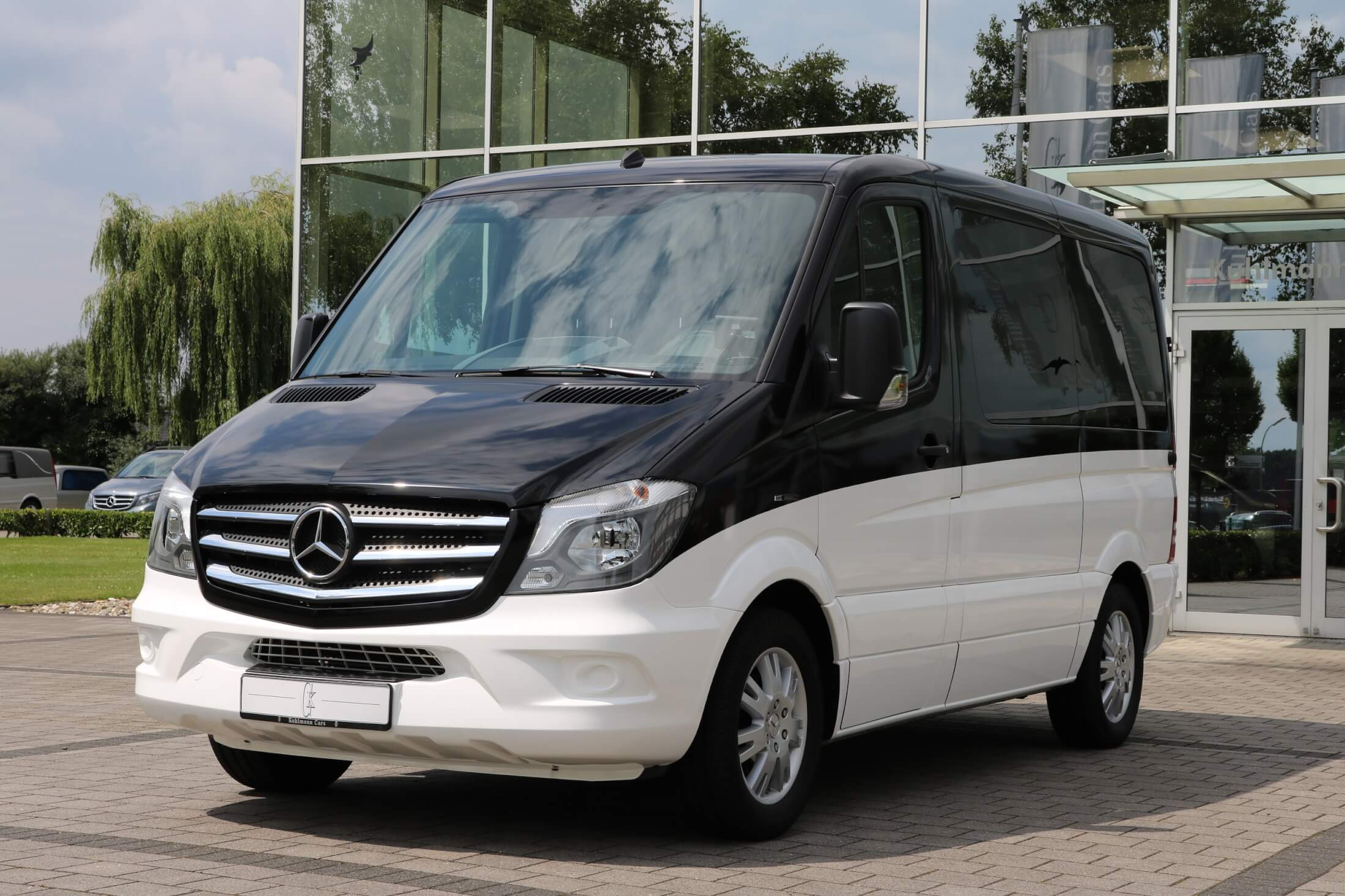 sprinter mercedes img matte shop benz vehicle black customization minibus
