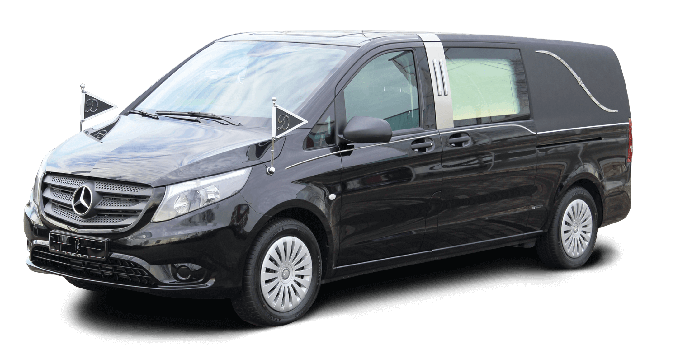 kuhlmann cars new hearse on basis mercedes benz vito v. Black Bedroom Furniture Sets. Home Design Ideas
